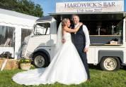 bride-and-groom-vintage-van-bar